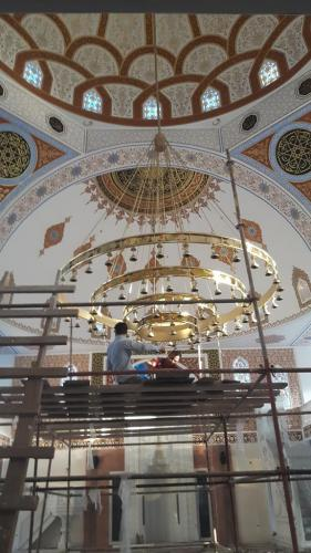 Cami Nakışı - Nakkaş - Cami Süsleme (10)