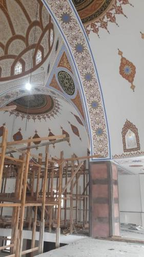 Cami Nakışı - Nakkaş - Cami Süsleme (18)