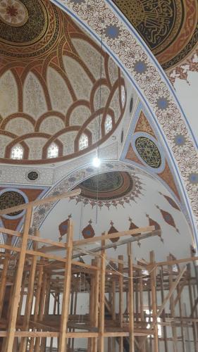 Cami Nakışı - Nakkaş - Cami Süsleme (2)