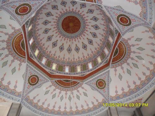 Cami Nakışı - Nakkaş - Cami Süsleme (21)