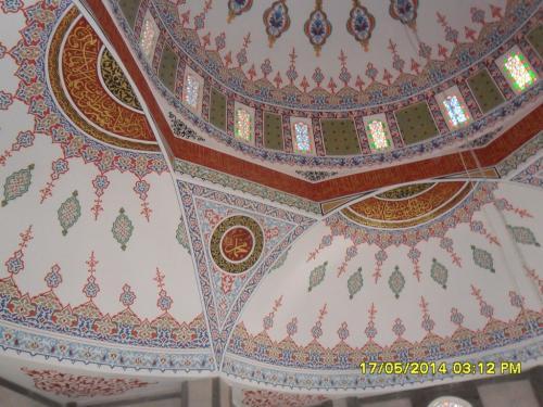 Cami Nakışı - Nakkaş - Cami Süsleme (24)