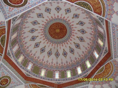 Cami Nakışı - Nakkaş - Cami Süsleme (26)