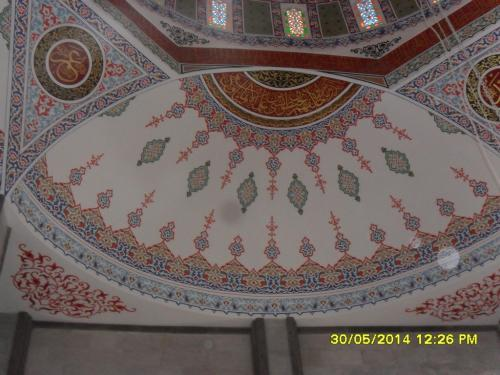 Cami Nakışı - Nakkaş - Cami Süsleme (27)