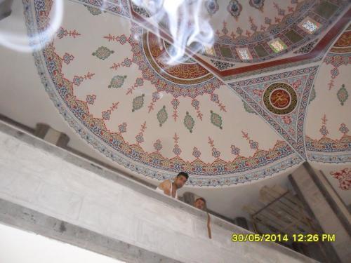 Cami Nakışı - Nakkaş - Cami Süsleme (28)