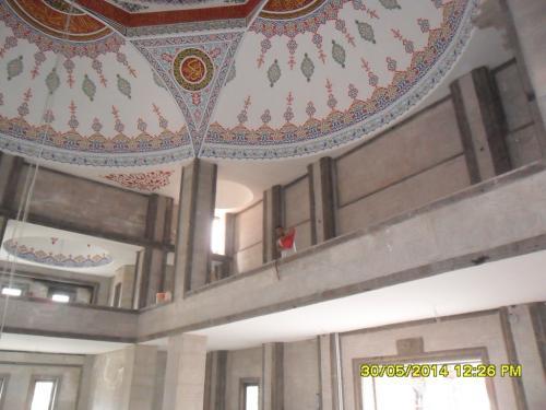 Cami Nakışı - Nakkaş - Cami Süsleme (29)
