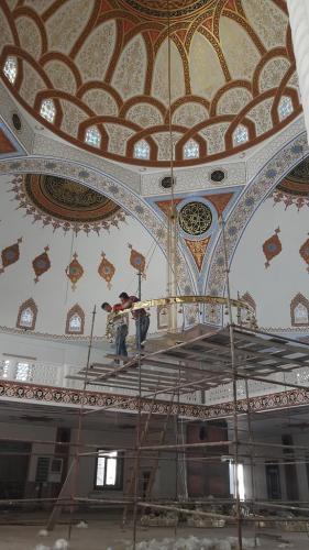 Cami Nakışı - Nakkaş - Cami Süsleme (5)