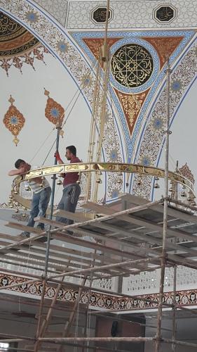 Cami Nakışı - Nakkaş - Cami Süsleme (6)