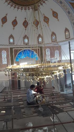 Cami Nakışı - Nakkaş - Cami Süsleme (9)