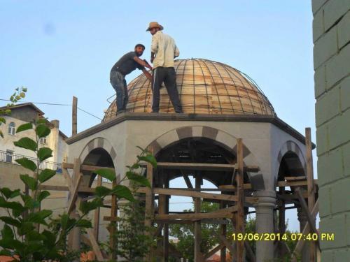 Kubbe Yapımı  ve Kubbe Kaplama Ustası (29)