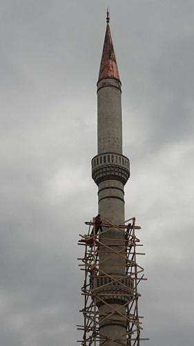 Taş ve Beton Minare Ustası (1)